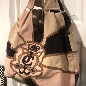 Stunning JUICY COUTURE SUEDE HOBO